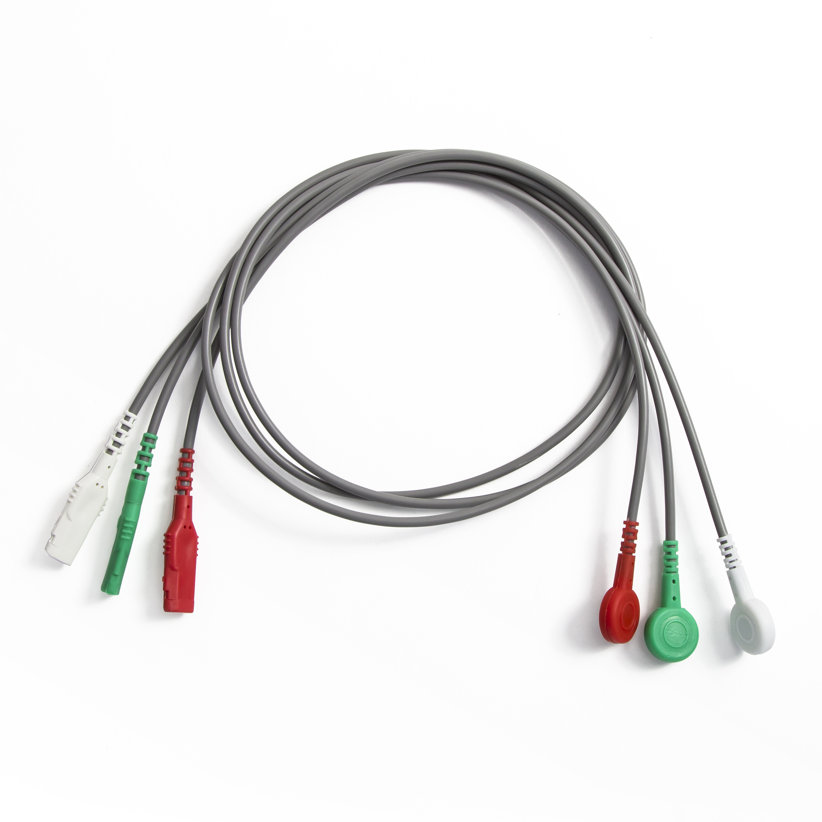 3-Lead Wire Set – LSI | Cardiopulmonary Monitoring Solutions