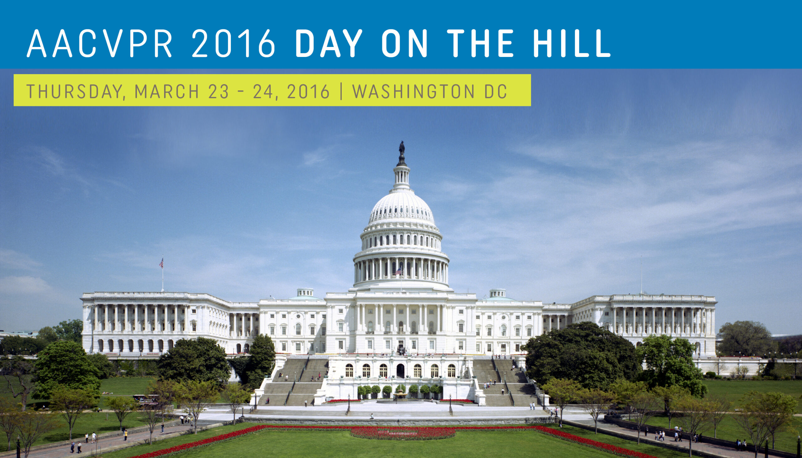 What to Do If You Can't Attend AACVPR's Day on the Hill 2016