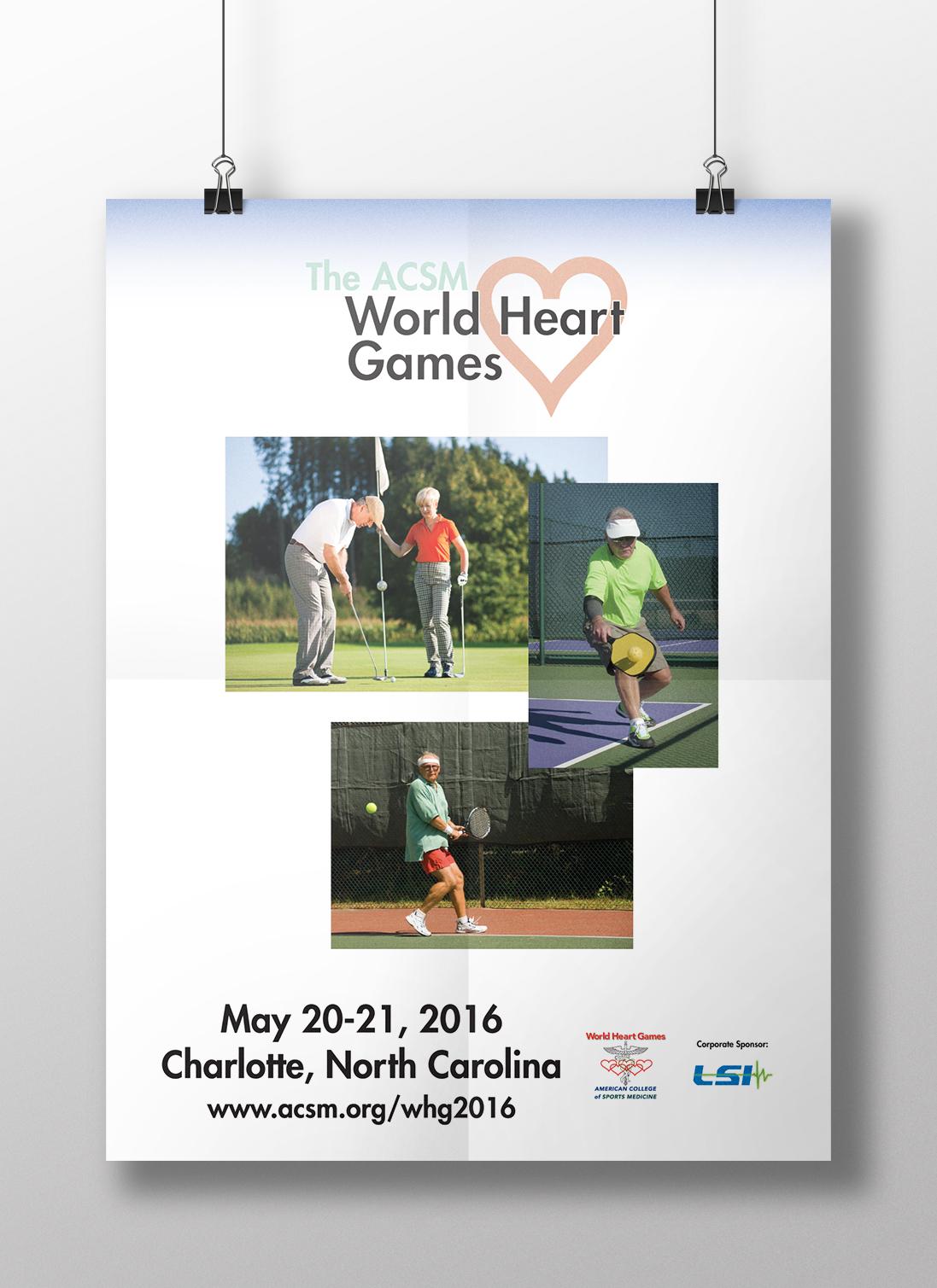World Heart Games poster