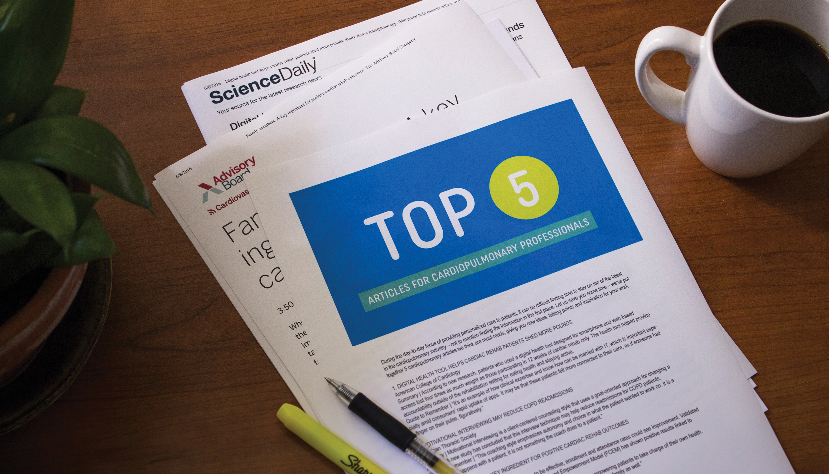 Top 5 Articles for Cardiopulmonary Professionals in June