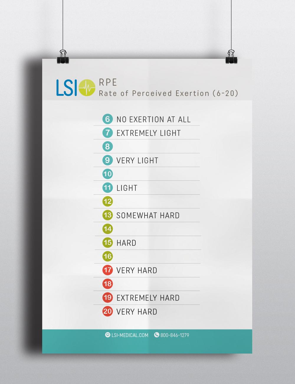 LSI Borg Scale