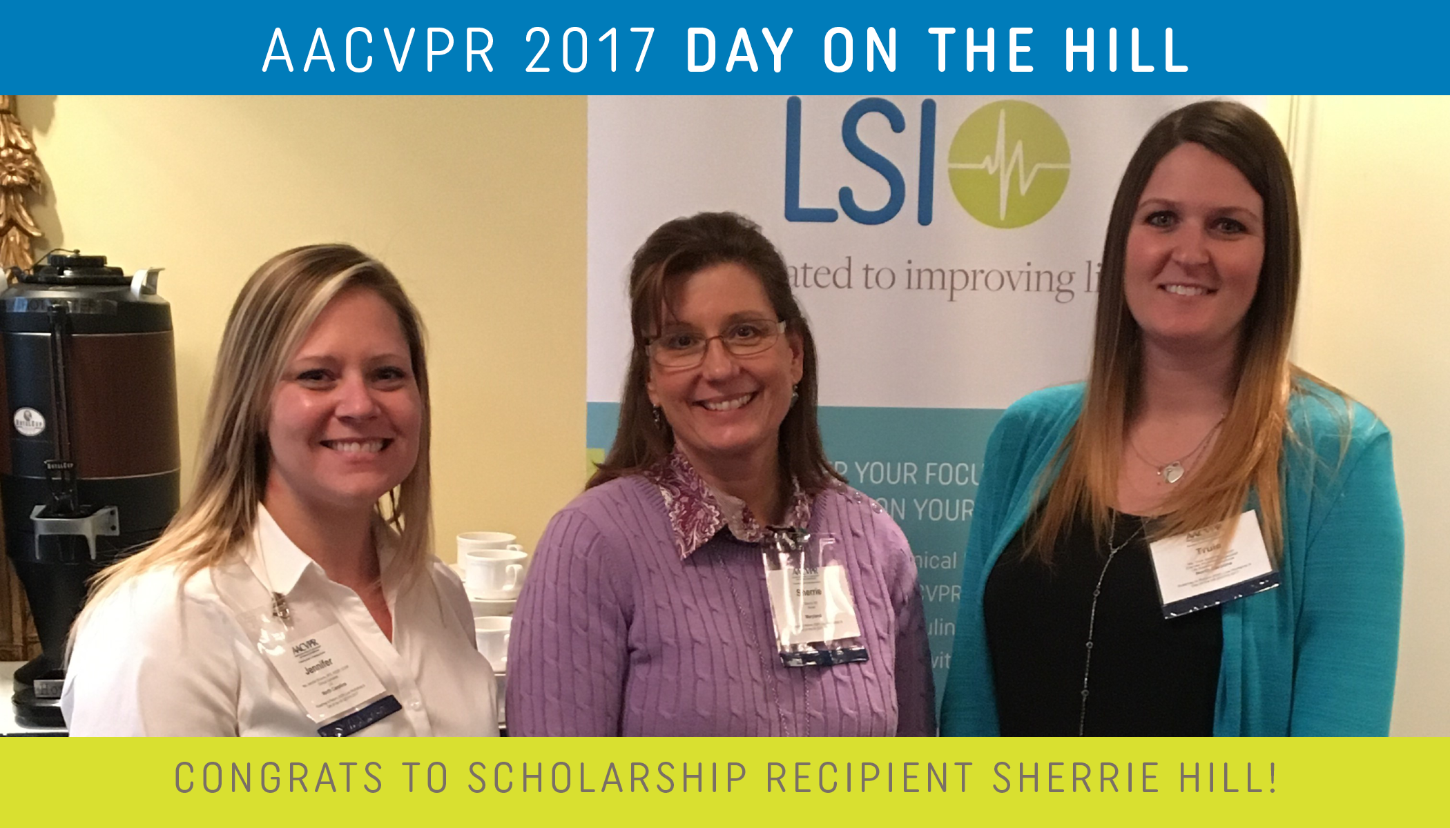 2017 Day on the Hill Scholarship Recipient