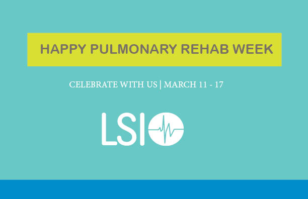 Pulmonary Rehab Week Contest | March 11- 17 2018