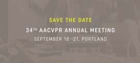 Save the Date: 2019 AACVPR Annual Meeting