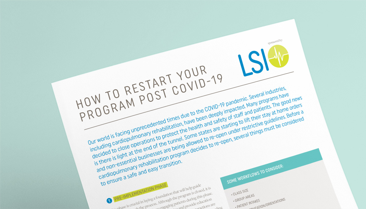 How to Restart Your Program Post COVID-19